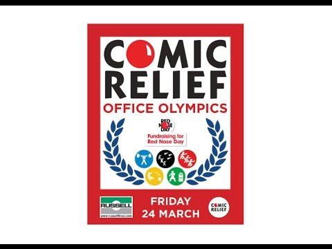 Office Olympics - Red Nose Day 2017 - Russell Finex