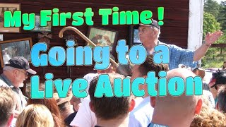 Are Going to Your 1st Live Auction ?  My First Time Series