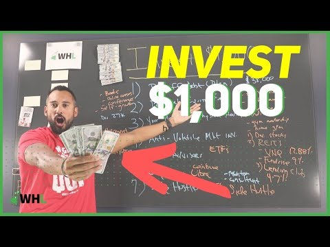 How To Invest $1,000 Dollars Right Now (best Investment Strategies 2019-2020)