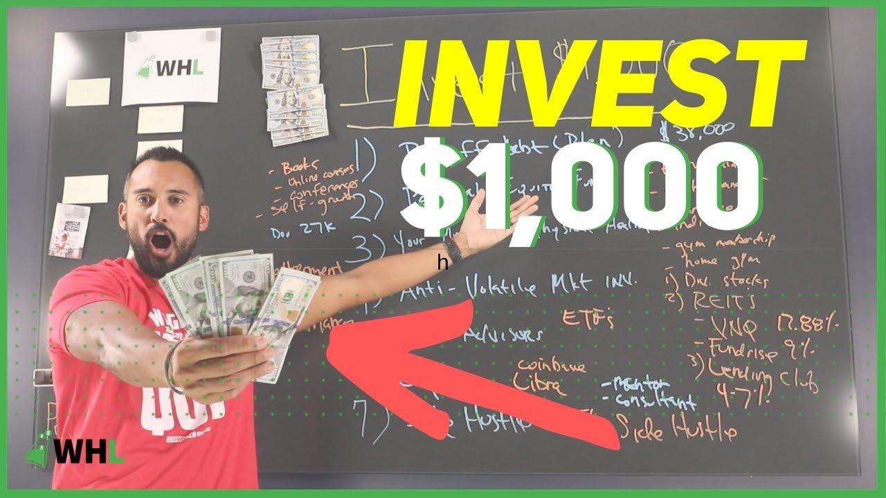 1000 dollar investment ideas