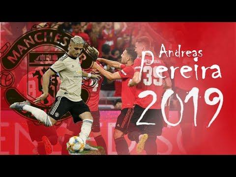 Andreas Pereira Tour 2019 | IT'S SHOW TIME | Passes, Corner Kicks, Skills, ...