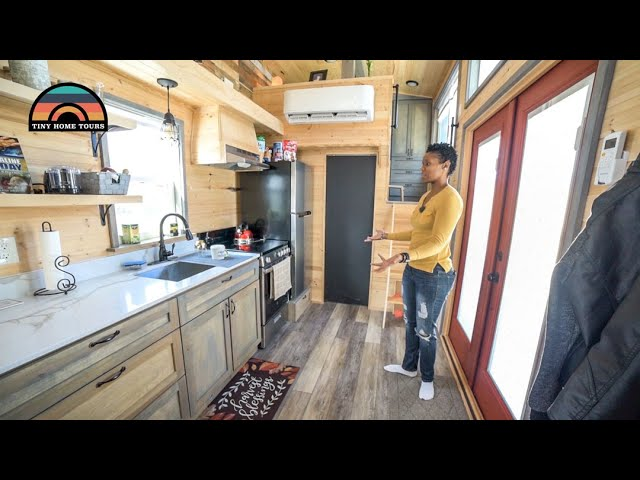 She Left California To Live In A Texas Tiny House Village - Fulfilling Her Childhood Dream
