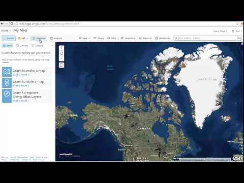 Introduction to ArcGIS Online
