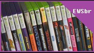 Meus jogos de XBOX 360 coleção atualizada