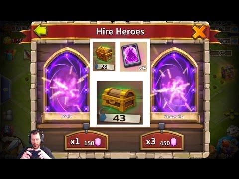 20,000 Free 2 Play Gems Crazy Warehouse NICE Account BazaaR Castle Clash