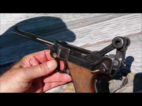 DWM 1906 American  Eagle  30 Luger