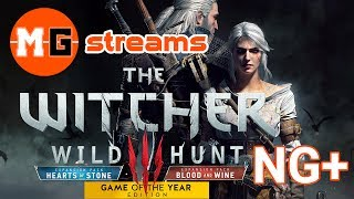 THE WITCHER 3 - New Game Plus on (Death March) with Mods - LIVESTREAM #73