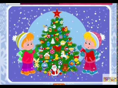 Новогодние стихи для самых маленьких - Учим Стихи Деду морозу!