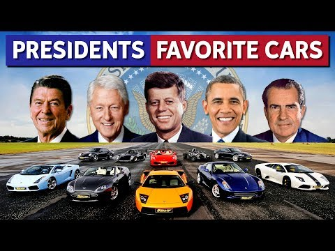 Every US President's Favorite Car!