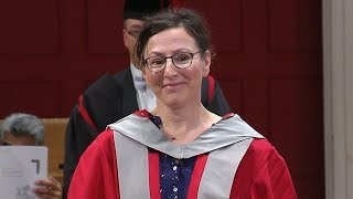 Nina Stibbe - Honorary Degree - University of Leicester