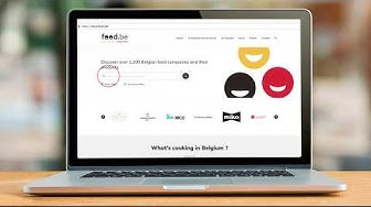 Discover the new food.be website
