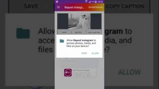 instagram video repost for android application playstore 2017
