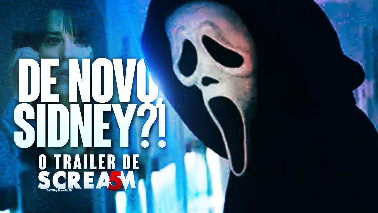 PÂNICO 5 Será DIVERTIDO, Porém GENÉRICO! Analisando o Trailer do Novo Scream! (2022)   Review EXTRA