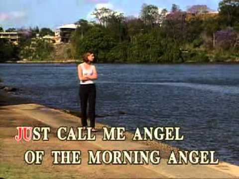 09 Angel of The Morning - Juice Newton (instrumental karaoke w/ lyrics)