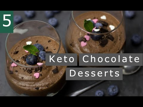Top 5 Amazing Keto Chocolate Desserts