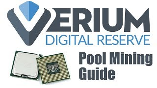 How To CPU Mine Verium Reserve (VRM). POOL Mining Guide