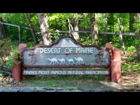 Visiting Desert of Maine, The Town of Freeport, Maine, United States