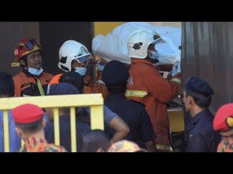 Fire kills 25 students and teachers at religious school in Malaysia's Kuala Lumpur