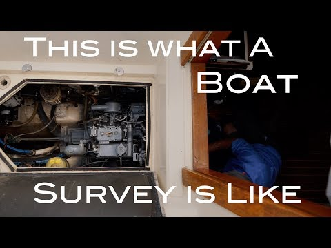 Boat Survey & Sea Trial.. The Process Worth Every Penny! The