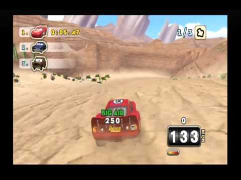 Cars: Mater-National Championship Walkthrough Part 1 (Wii)