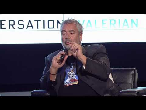 Luc Besson Q&A   YouTube Space LA   On Writing...