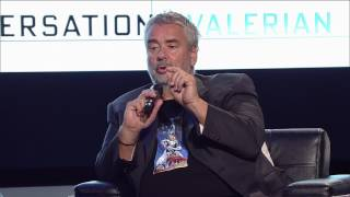 Luc Besson Q&A | YouTube Space LA | On Writing...