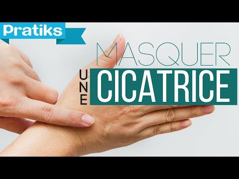 Comment masquer une cicatrice - YouTube