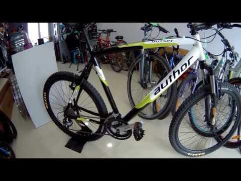 Велосипед MTB  AUTHOR Outset 26 рама 21 магазин Вело Мир