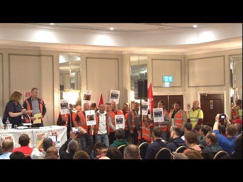 Birmingham's striking bin workers