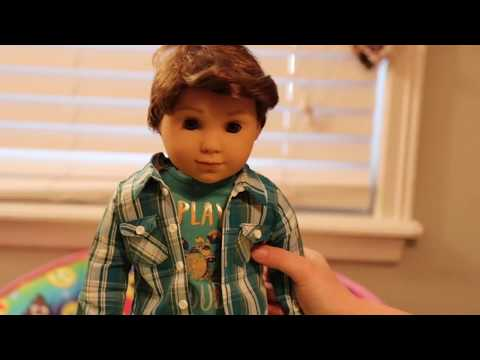 American Girl BOY DOLL LOGAN EVERETT Unboxing Playing with Dolls