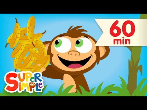 Counting Bananas + More  Kids Songs & Nursery Rhymes  Super Simple Songs