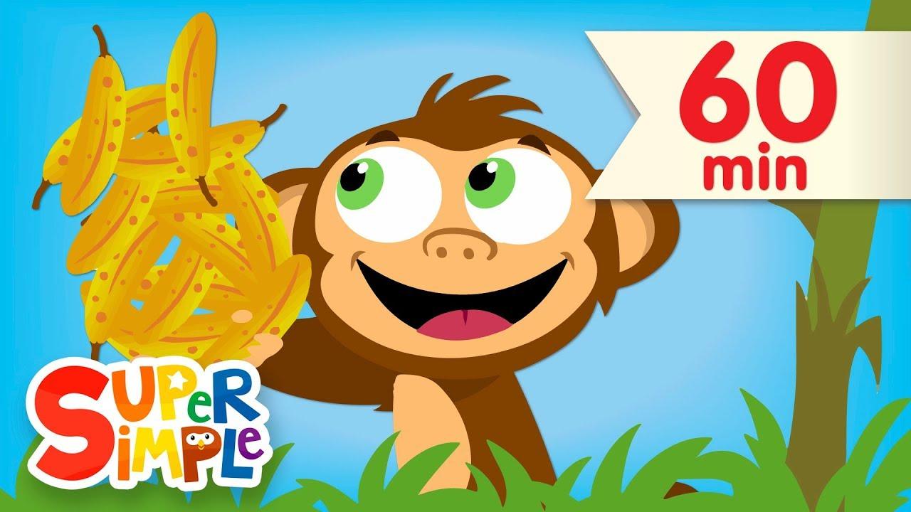 Download Counting Bananas + More | Kids Songs & Nursery Rhymes | Super Simple Songs