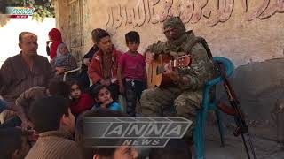 Zaz - Je veux / Russian soldier in Syria cover Video