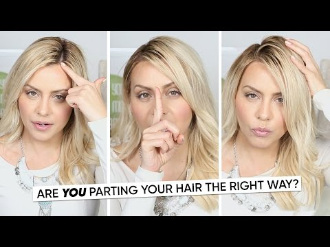 Are You Parting Your Hair The Right Way Golectures Online Lectures