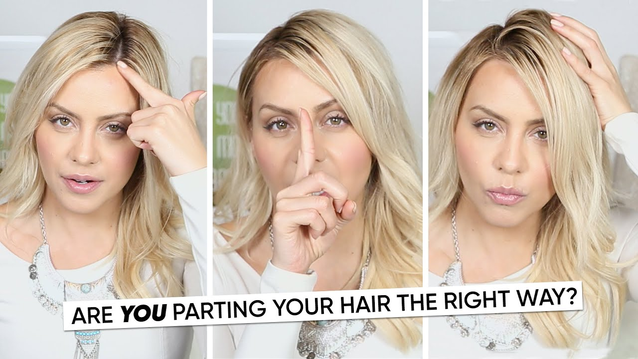 Are You Parting Your Hair the Right Way? - YouTube