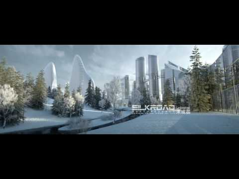 Silkroad Architecture Animation for Moscow
