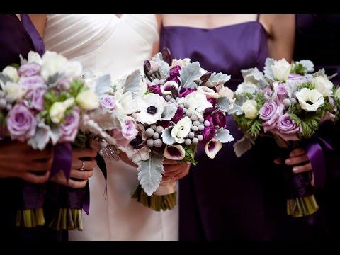 Ideas for winter wedding flowers - YouTube