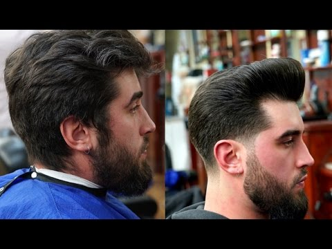 Haircut Tutorial Low Taper With Pompadour Youtube