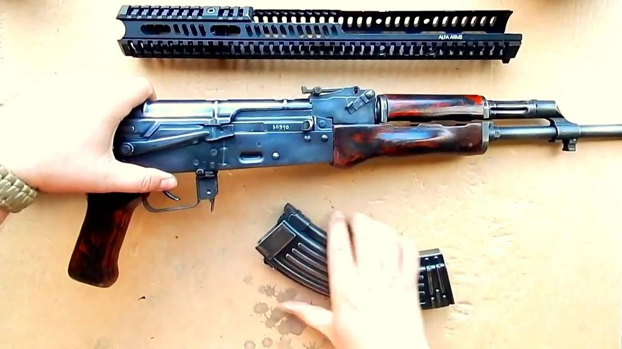Газовый GHK АКМС на Пропане | GHK GBB AKMS on R-290 Propane .