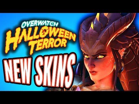 Halloween Terror 2017 Skins and Emotes [Overwatch]