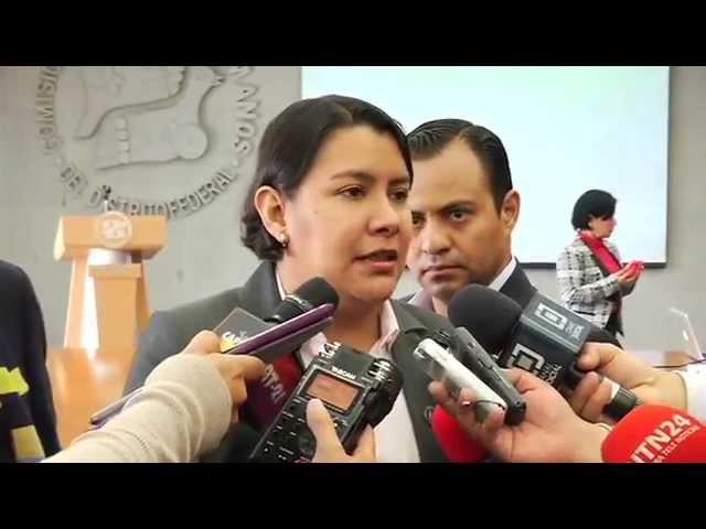 Entrevista a la Dra. Perla Gómez al término de la presentación del Portal de Transparencia Proactiva