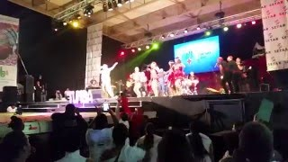 Raul Piar y Gozadera tumba festival Aruba 2016