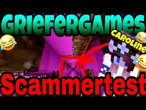 Scammersuche mal etwas anders😂Mit Caroline👸🏼/Scammertest auf Griefergames.net (Minecraft/Deutsch)