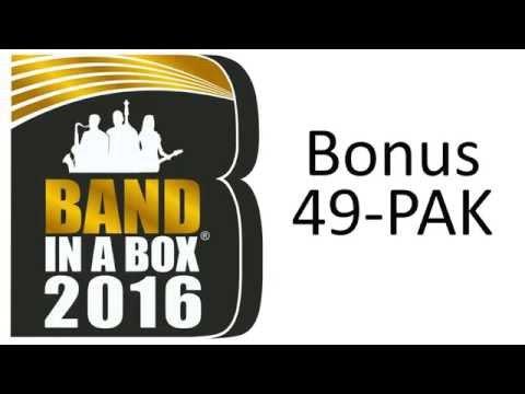 Band-in-a-Box 2016 - Bonus 49-PAK