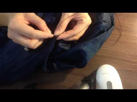 0 - Як закласти дірку на пуховику?