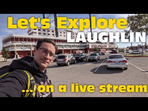 Walking In LAUGHLIN Nevada? Uh, Okay...