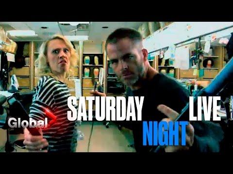 SNL - Chris Pine & Kate McKinnon Dance Like Nobody's Watching in Hilarious