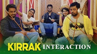 Kirrak Party team Interaction with Fans at Face...