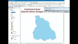 Tutorial GIS : Membuat DAS atau Catchment Area pada ArcGis