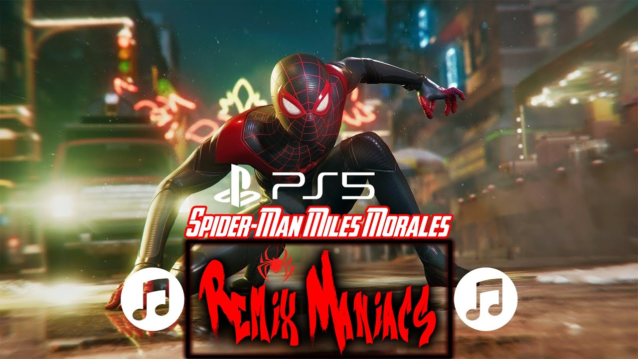 Spider-Man: Miles Morales (Don't Give Up Remix) -RM